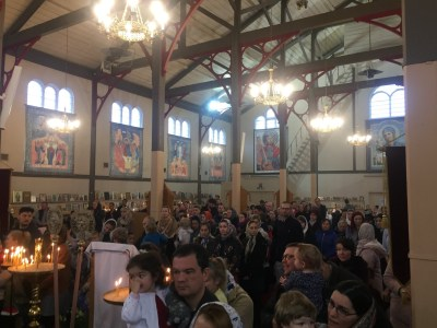 The Kursk-Root icon visits the Colchester Parish, 2019