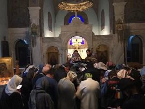 Пастырские визиты викарского епископа приходов епархии для помазания | Visites pastorales de l'évêque vicaire aux paroisses pour la soborovanie