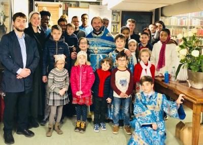 A children's meeting, Geneva