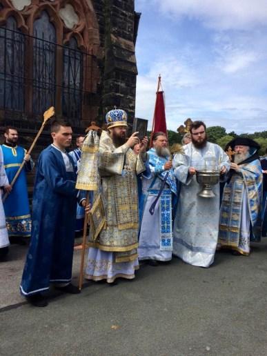 Cross procession.