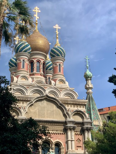 The Church of Christ the Saviour and St Seraphim in Sanremo, Italy