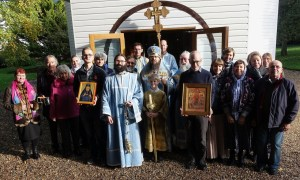 'Joy of All Who Sorrow' Patronal Feastdays Celebrated in Mettingham and Menton