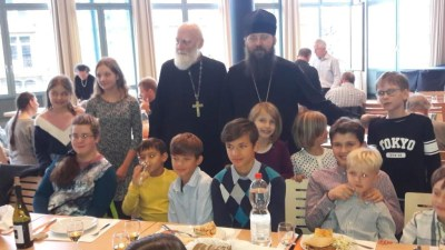 Bishop Irenei makes his first archpastoral visit to the Zurich Parish, November 2019