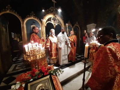 The newly-ordained Priest is presented to the faithful