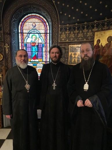 Bishop Alexander, Priest John Ciurin, and Bishop Irenei