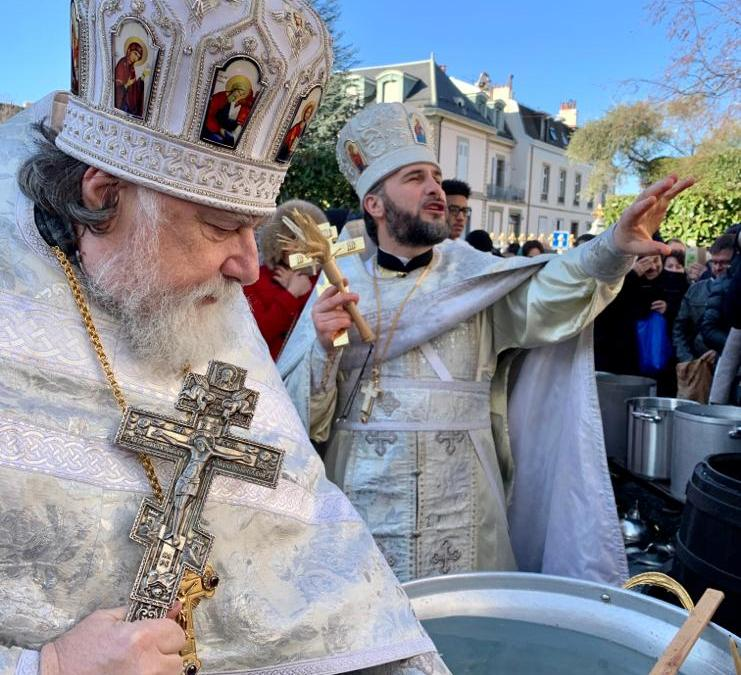 Theophany is Celebrated in Geneva, and a Child Joins the Lord in the Waters on the Day of His Baptism | Крещение Господне – Богоявление в Женеве