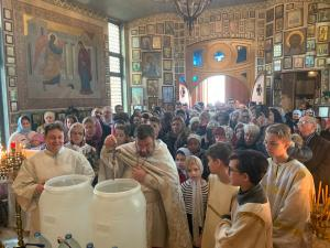 Throngs of Faithful Celebrate the Lord's Baptism in Luxembourg | Une grande multitude de fidèles célèbrent le baptême du Seigneur à Luxembourg