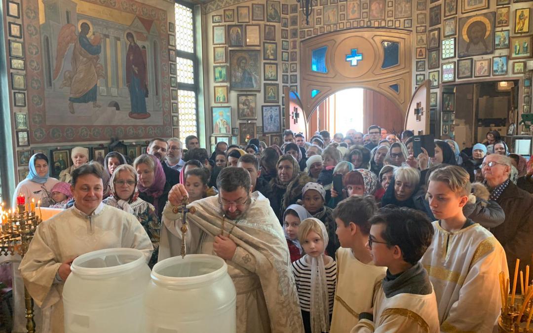 Throngs of Faithful Celebrate the Lord's Baptism in Luxembourg | Une grande multitude de fidèles célèbrent le baptême du Seigneur à Luxembourg