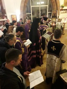 Holy Unction and Divine Liturgy Served at St Elisabeth Parish in Wallasey, England