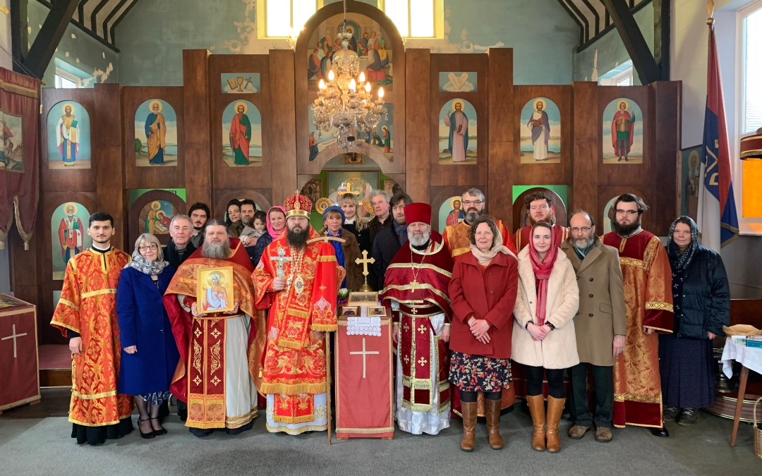 The First Patronal Feastday of the Mission Parish of St Chad in Telford, England, is Celebrated