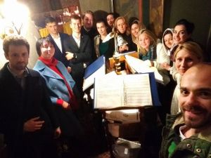 From the Diocese to the World: An Orthodox 'Lock-Down Choir' is Creating a Mass-Choir for Pascha Made Up of Singers at Home.