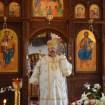 Arcybiskup Abel podczas turkowickich uroczystości 2014.