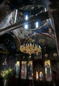 Ikonostas cerkwi monasteru Święty Roman w Serbii