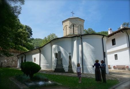 Główna XVII wieczna cerkiew monasteru Święty Roman w Serbii
