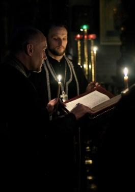 Troparion Kanonu św. Andrzeja z Krety czyta ks. mitrat Andrzej Łoś