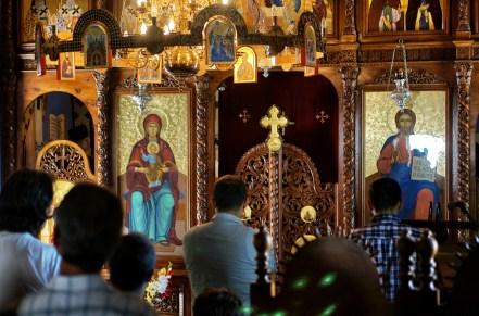 Ikonostas cerkwi Świętej Trójcy