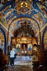 Główna nawa cerkwi Świętej Trójcy