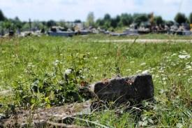 Pozostałości po cmentarzu prawosławnym w Malicach