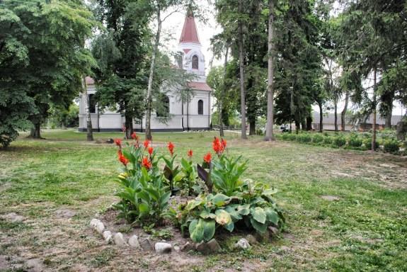 Pozostałości po cmentarzu prawosławnym w Hostynnem