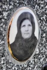 Portret nagrobny na cmentarzy w Terebiniu