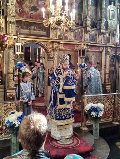 Kazanie głosi JE Arcybiskup Jakub
