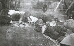 Odpoczynek bieżeńców - 1915 r.