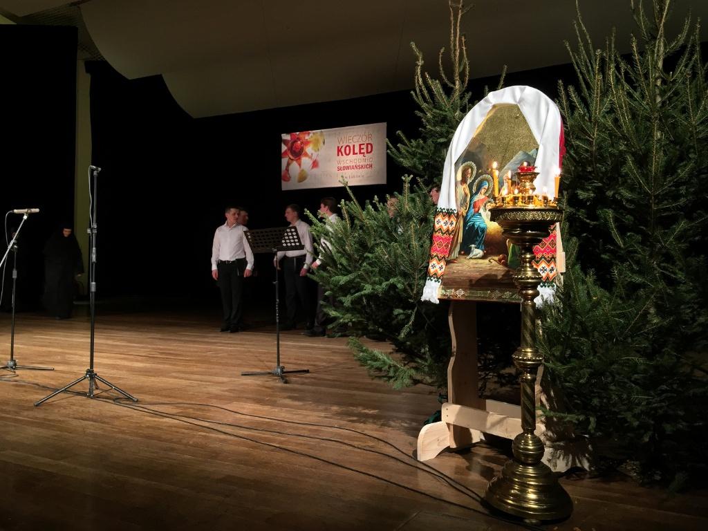 """Ikona Bożego Narodzenia na""""Wieczorze Kolęd Wschodniosłowiańskich w Lublinie"""""""