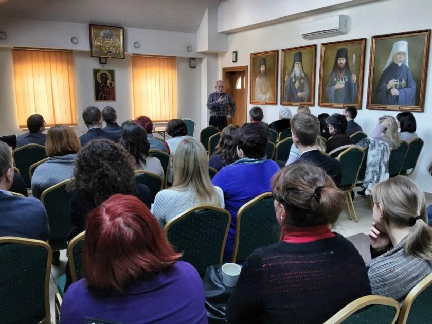 Wykład Aleksandra Czopa o psychoterapii