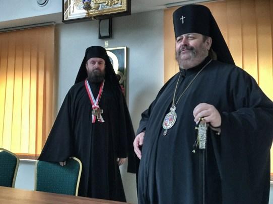 Wykład serbskiego Archimandryty Stefana Šarića w ramach Bractwa CiM