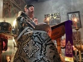 Ewangelię czyta JE Arcybiskup Abel