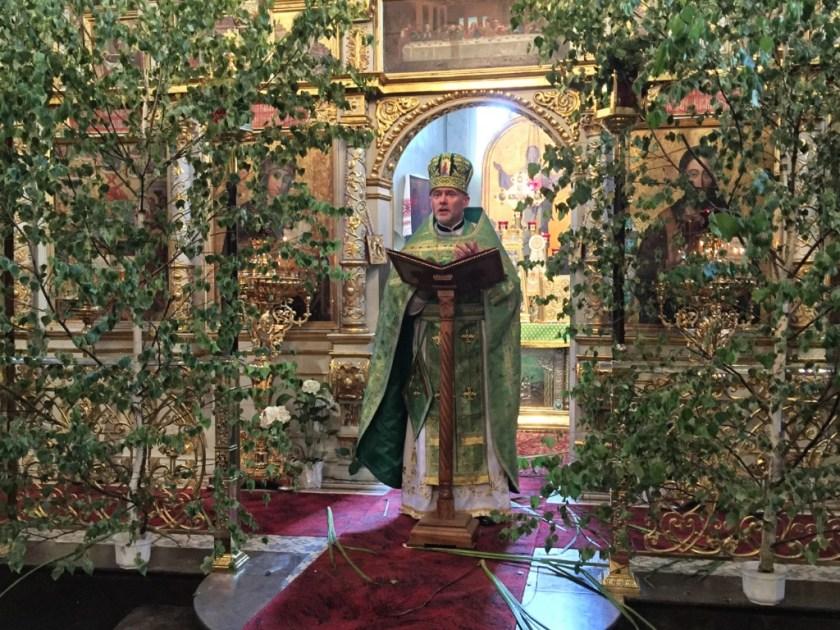 Kazanie na święto Zesłania Ducha Świętego głosi ks. mitrat Andrzej Łoś