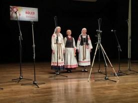 Białoruski folkowo-etniczny zespół GUDA z Mińska (Białoruś)