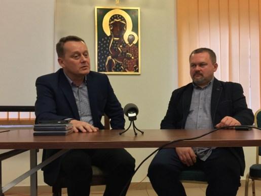 """Twórcy filmu """"Siaroża"""" Jerzy Kalina i Jarosław Iwaniuk"""