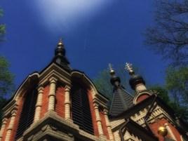 Cerkiew Niewiast Niosących Wonności na cmentarzu przy ul. Lipowej