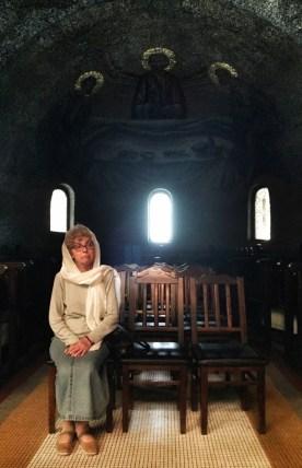 We wnętrzu katedry pw. Zaśnięcia Bogarodzicy w Cluj-Napoca