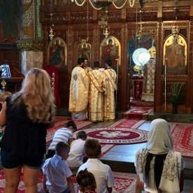 Boska Liturgia w prawosławnej katedrze pw. św. Mikołaja w Deva