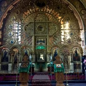 Jedyny w swoim rodzaju ikonostas solarny w cerkwi pw. Sv. Nicula