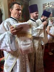Trzej diakoni: Aleksy, Marek i Vadim
