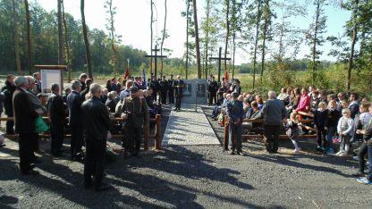 Otwarcie cmentarza - Gmina Łaziska 2017 3