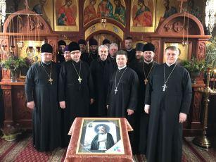 Rekolekcje dekanatu terespolskiego i bialskiego - monaster w Kostomłotach 2017