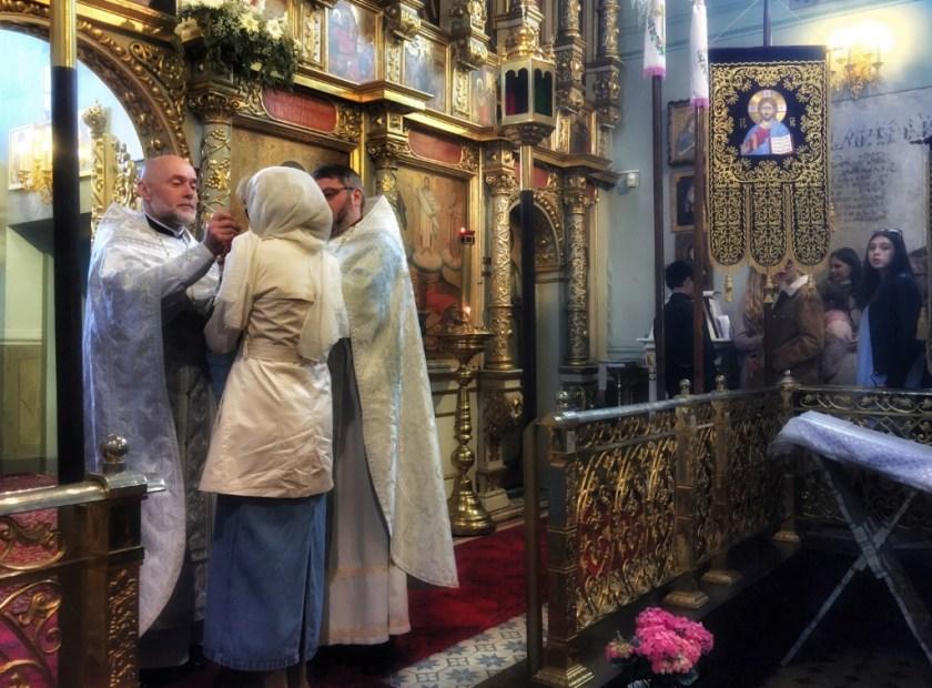 Eucharystia w lubelskiej katedrze