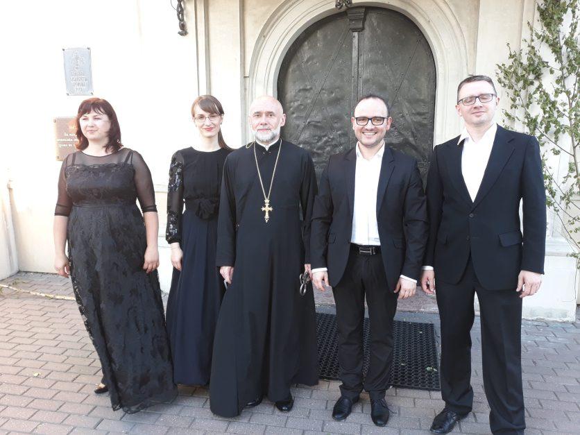 Koncert ENSEMBLE QUATTROVOCE z Białegostoku - Lublin 2018