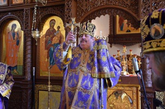 Boska Liturgia w monasterze w Turkowicach
