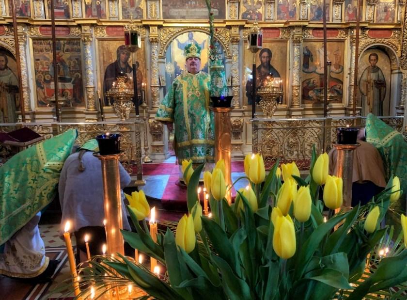 Kazanie na Palmową Niedzielę głosi Władyka Abel