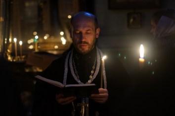 Czytanie Wielkiego Kanonu św. Andrzeja z Krety w lubelskiej katedrze
