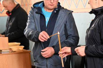 Jutrznia Wielkiego Piątku w Cerkwi Parafialnej św. Michała Archanioła w Nosowie