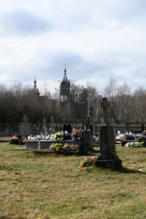 Cmentarz prawosławny w Zabłociu