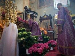 Wieczernia Wielkiej Soboty Katedrze Przemienienia Pańskiego w Lublinie
