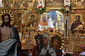 Boska Liturgia w drugi dzień Paschy w lubelskiej katedrze