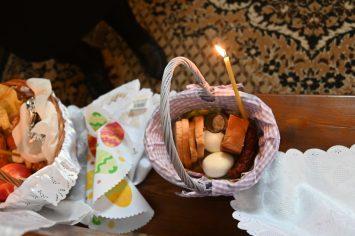 Poświęcenie pokarmów w Cerkwi Prawosławnej św. ap. Jana Teologa w Terespolu